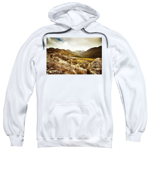 Rocky Valley Mountains Sweatshirt