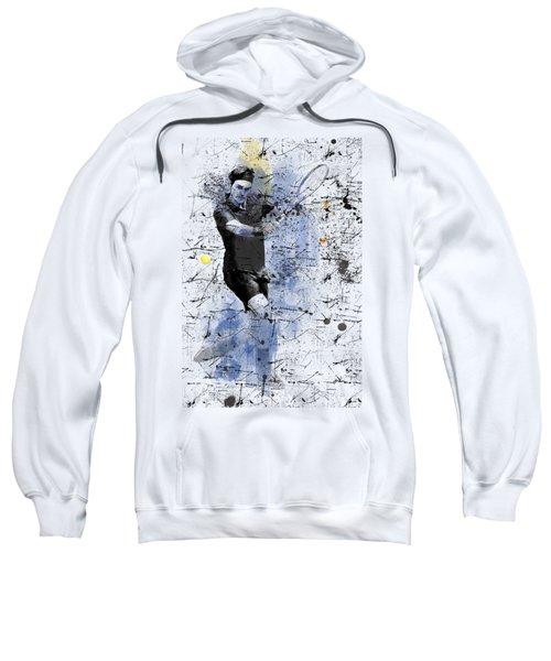 Roger Federer Sweatshirt by Marlene Watson