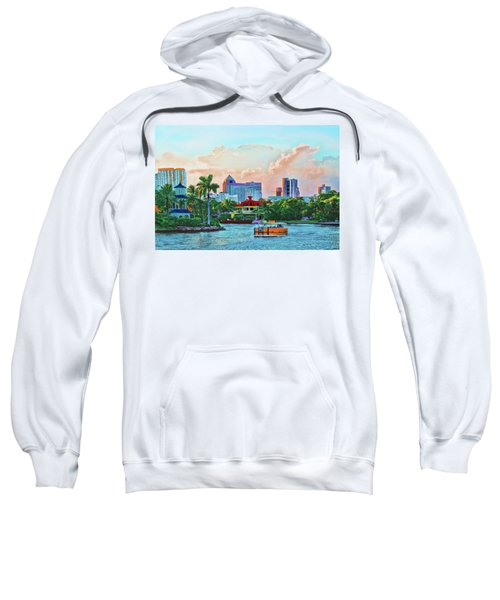 Rolling Down The New River Sweatshirt