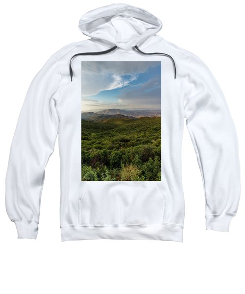 Rolling Hills Of Chaparral Sweatshirt