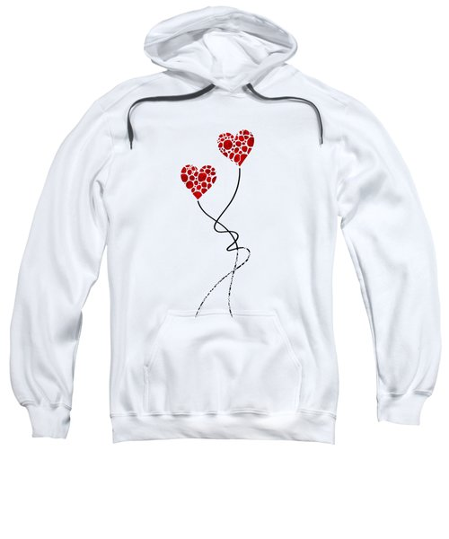 Romantic Art - You Are The One - Sharon Cummings Sweatshirt