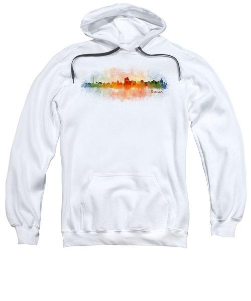 Rome City Skyline Hq V03 Sweatshirt