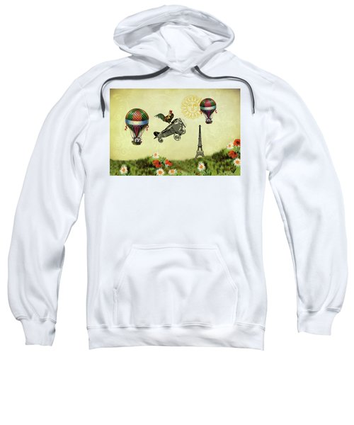 Rooster Flying High Sweatshirt