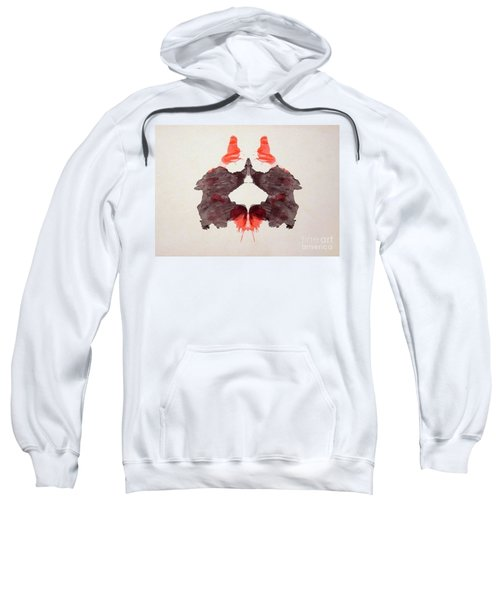 Rorschach Test Card No. 2 Sweatshirt