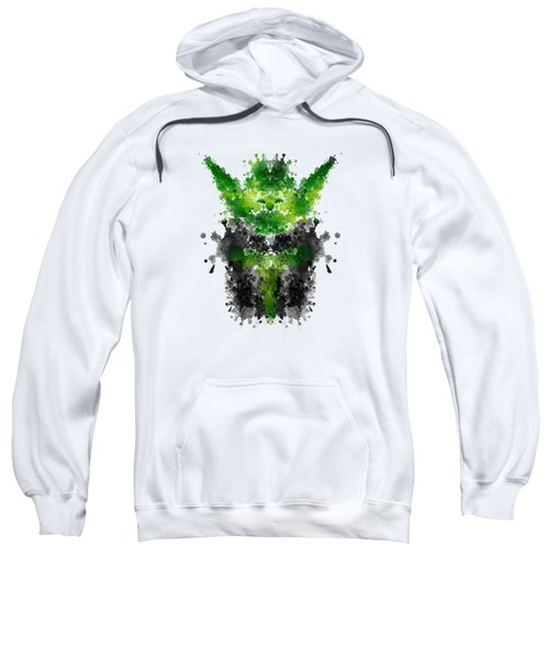 Rorschach Yoda Sweatshirt