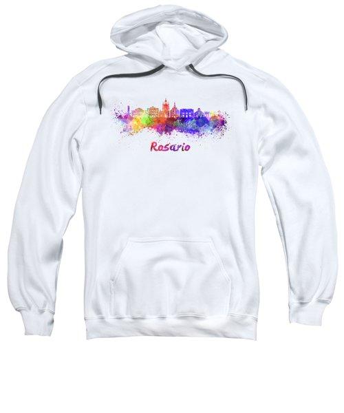 Rosario Skyline In Watercolor Sweatshirt