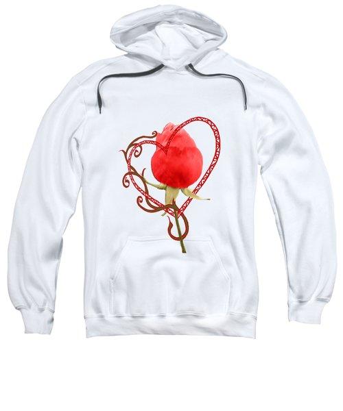 Rose Through My Heart Sweatshirt