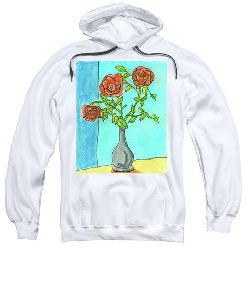 Roses R Red Sweatshirt