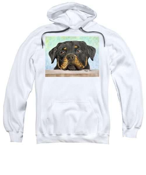 Rottweiler's Sweet Face 2 Sweatshirt