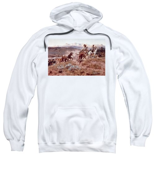 Round Up On The Musselshell  Sweatshirt