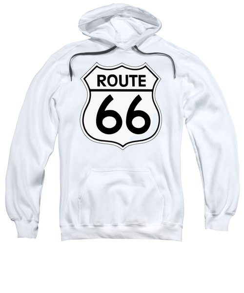 Route 66 Sign Sweatshirt