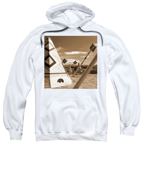 Route 66 - Wig Wam With Large Arrows Sweatshirt