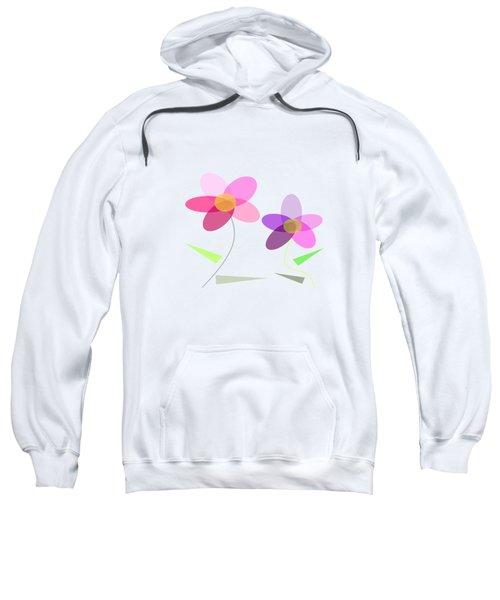 Rows Of Flowers Sweatshirt