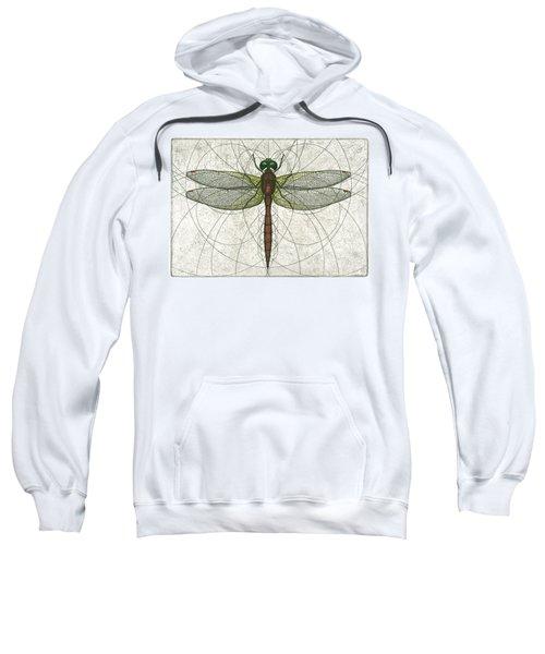 Ruby Meadowhawk Dragonfly Sweatshirt
