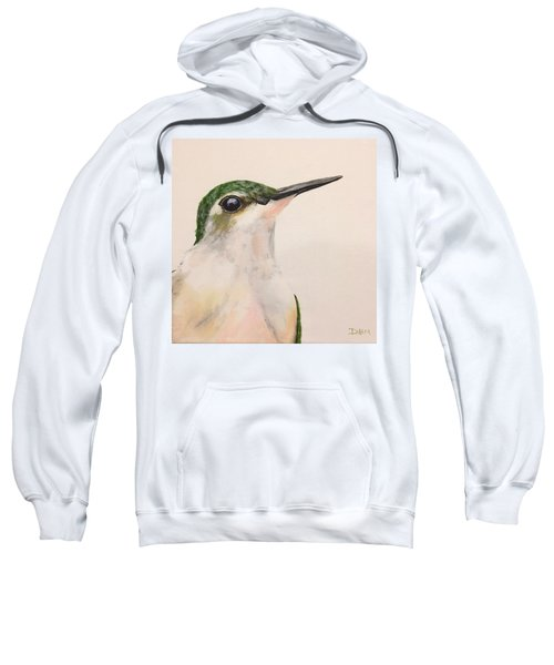 Ruby Throated Hummingbird Sweatshirt