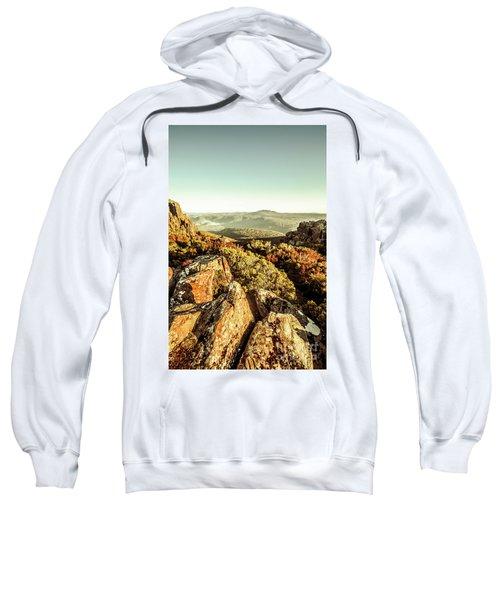 Rugged Mountaintops To Regional Valleys Sweatshirt