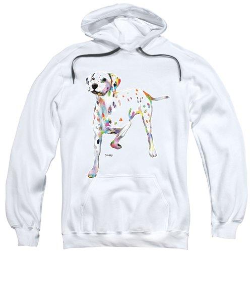Running Dalmatian Sweatshirt