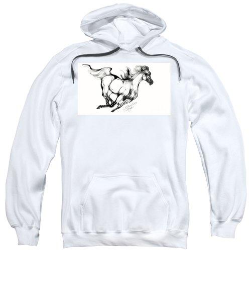 Night Running Horse Sweatshirt