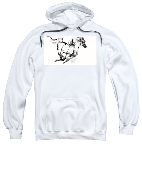 Night Running Horse Sweatshirt