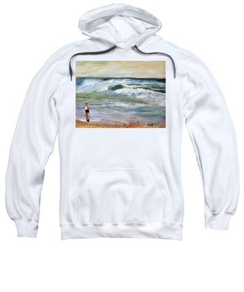 Running The Beach Sweatshirt