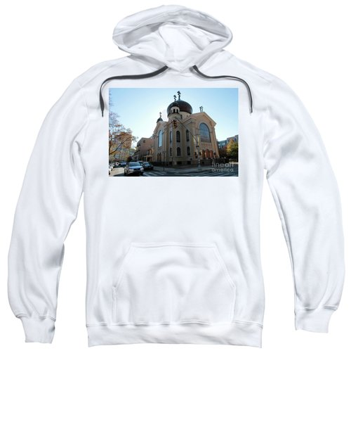 Russian Orthodox Cathedral Of The Transfiguration Of Our Lord Sweatshirt
