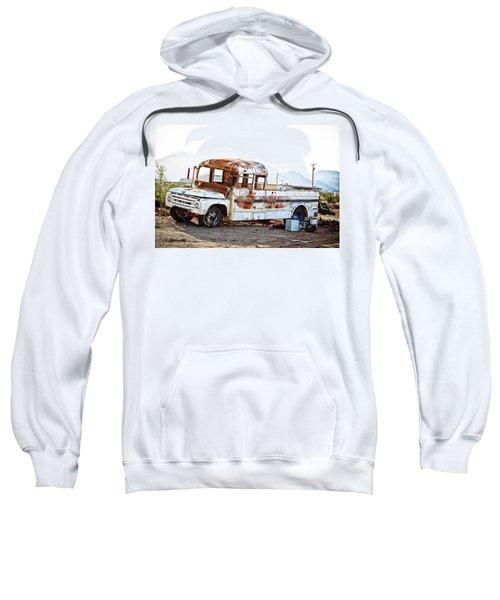 Rusted Abandoned Truck Sweatshirt