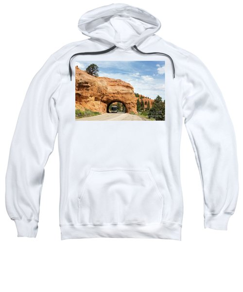 Rv Red Canyon Tunnel Utah Sweatshirt