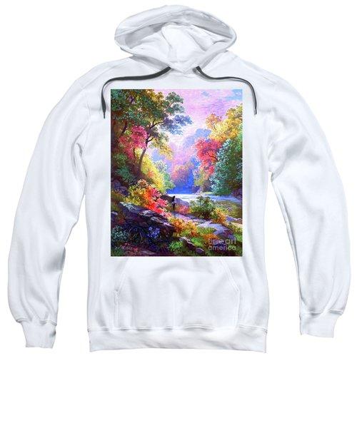 Sacred Landscape Meditation Sweatshirt
