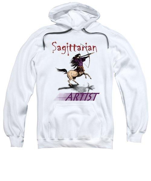 Sagittarian Artist Sweatshirt