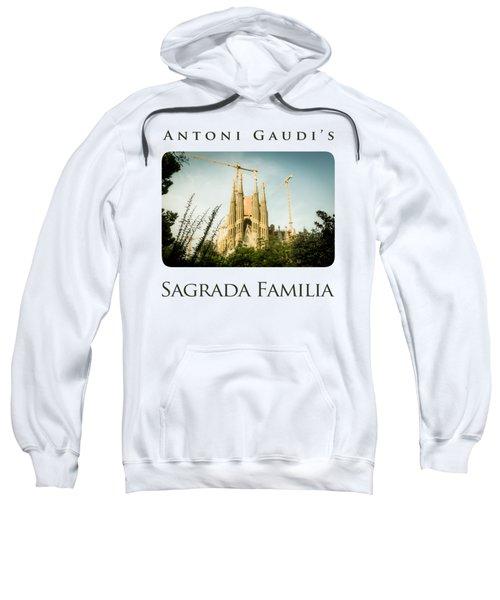 Sagrada Familia With Catalonia's Flag Sweatshirt