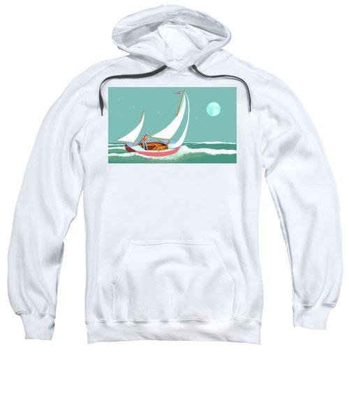 Moonlight Sail Sweatshirt