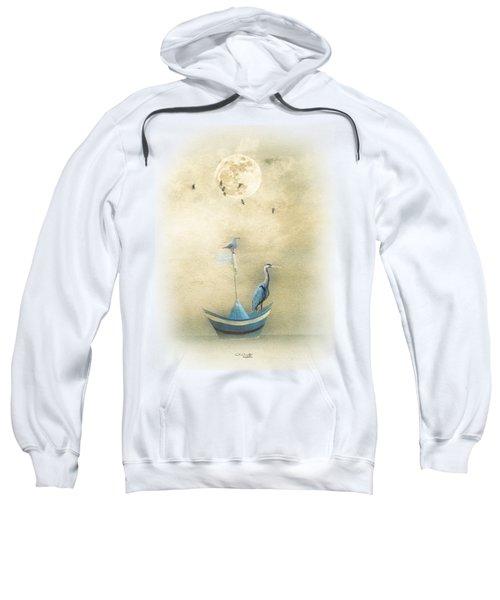 Sailing By The Moon Sweatshirt