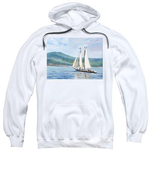 Sailing Into Castine Harbor Sweatshirt