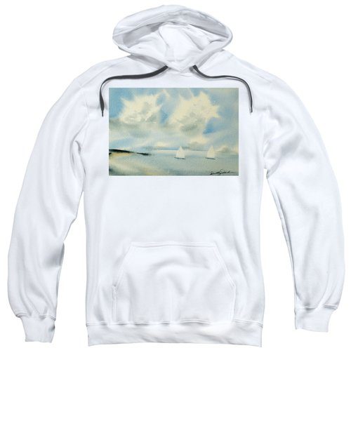 Sailing Into A Calm Anchorage Sweatshirt
