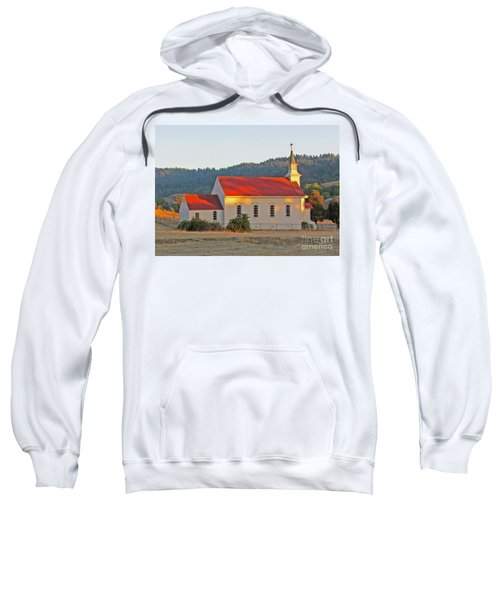 St. Mary's Church At Sunset Sweatshirt