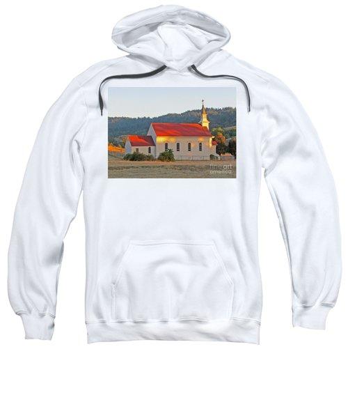 St. Mary's Church At Sunset Sweatshirt