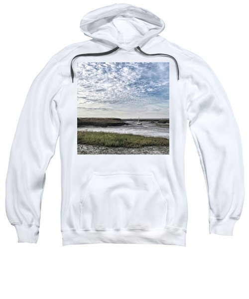 Salt Marsh And Creek, Brancaster Sweatshirt