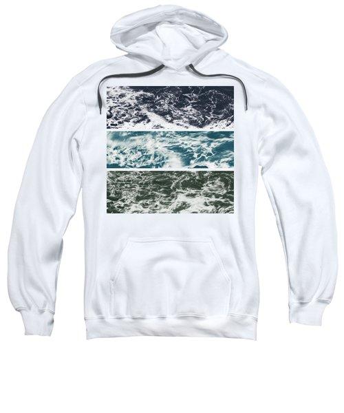 Salt Water Triptych Variation 2 Sweatshirt