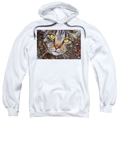 Sam The Tabby Cat Sweatshirt