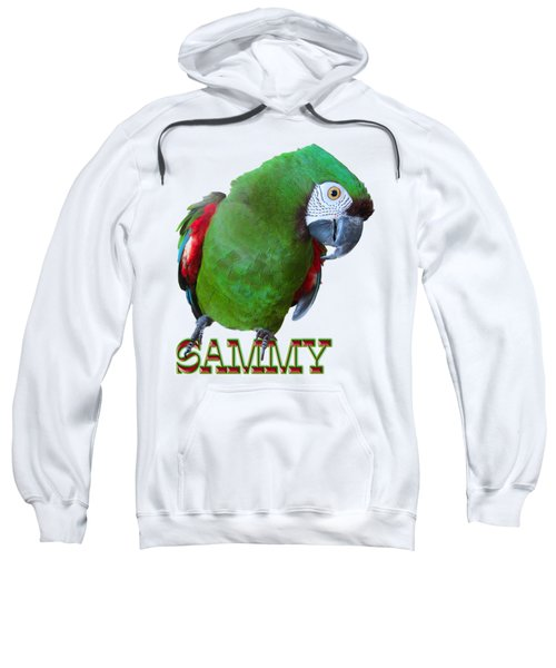 Sammy The Severe Sweatshirt by Zazu's House Parrot Sanctuary