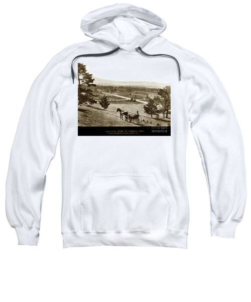 Samuel J. Duckworth Pauses To Look Upon What Would Become Carmel 1890 Sweatshirt