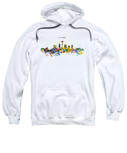 San Antonio Skyline Silhouette Sweatshirt