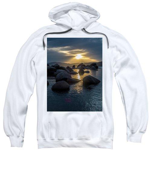 Sand Harbor Light Sweatshirt