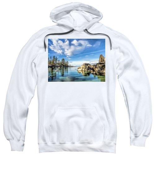 Sand Harbor Morning Sweatshirt