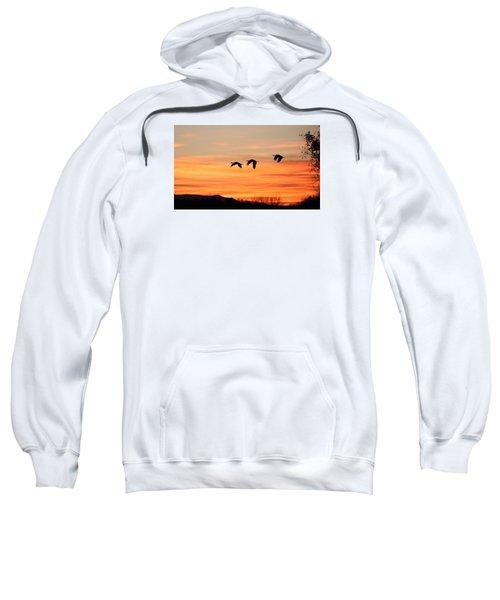Sandhill Sunrise 2 Sweatshirt