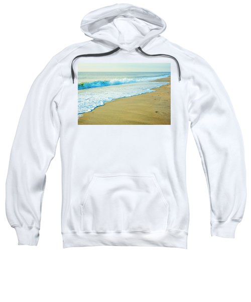 Sandy Hook Beach, New Jersey, Usa Sweatshirt