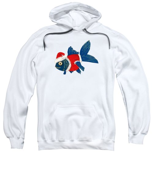 Santa Fish Sweatshirt