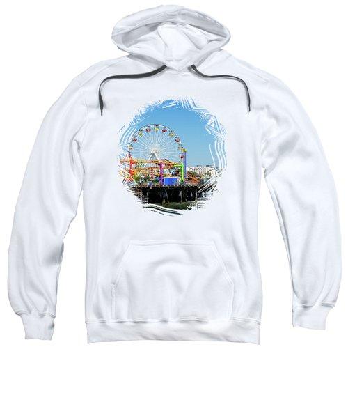 Santa Monica Ferris Wheel Sweatshirt