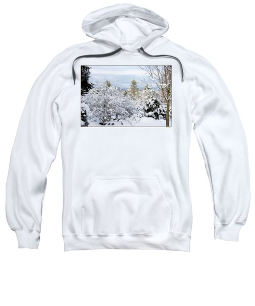 Saratoga Winter Scene Sweatshirt