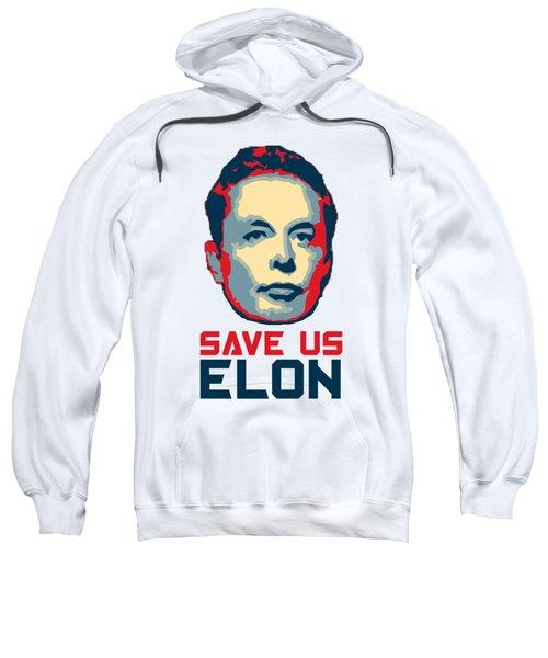 Save Us Elon Pop Art Sweatshirt